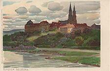 NÖ: Gruß aus Klosterneuburg ca. 1900 ( Künstlerpostkarte Ottmar Zieher )
