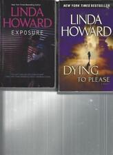 LINDA HOWARD - EXPOSURE - A LOT OF 2 BOOKS