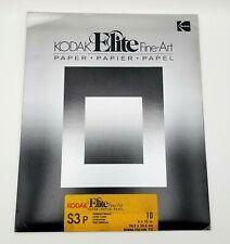 Kodak Elite Fine Art - S3P Premium Weight Photo Paper - 10ct 10x8