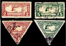 1916-17 Austria #Qe1-4 Special Handling Stamps - Most Used - Vf - $8.65 (E#2243)