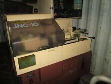 Star Model Jnc 10 13stroke 2hp Cnc Swiss Screw Machine Withyasnac Control