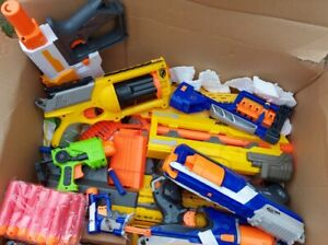 *WOW* Huge RARE Nerf gun bundle job lot plus new darts accessories Rivals Vortex