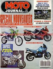 MOTO JOURNAL 1054 BMW R100 R YAMAHA TDM 850 HONDA CB 750 KAWASAKI Zephyr Z900 Z1