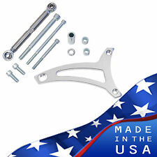 Ford 351W Billet Aluminum Alternator Bracket V-Belt SBF Alt Windsor Kit 5.8L