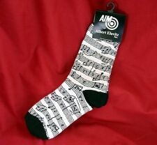 Women's White Sheet Music Design Socks Music Teacher Student Musician Gift New