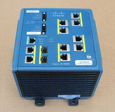 Cisco IE-3000-8TC Industrial Ethernet Switch  8 ports Tested 6MthWty TaxInv