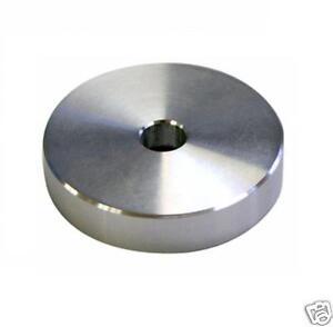 Adaptateur centreur 45Tours pour tourne disque platine vinyle 33T en métal alu