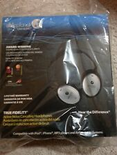 Able Planet TRUE FIDELITY NC500TF Headband Headphones - Silver/Black