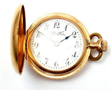 Rare Tiffany & Co. Patek Philippe movement 18k Yellow Gold Ladies Pocket Watch
