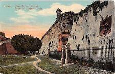 Cuba postcard Havana Habana Foso de los Laureles, Moat of Cabanas Castle