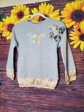 Brums Italian Sweater Top Girls Shirt Casual Sassy Long Sleeve Casual