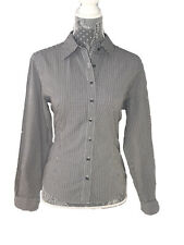 Brooks Brothers Women Shirt Size 10 Plaid EXCELLENT CONDITION Button 100% Cotton