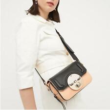BNWT $349 MIMCO Leather Turnlock Hip Bag Shoulder Satchel Crossbody