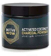 Active Wow Teeth Whitening - Activated Charcoal Powder Natural