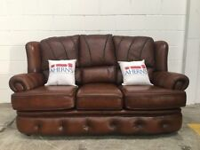 Leather Antique Style Solid Sofas