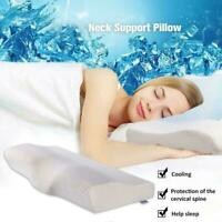 Slow Rebound Memory Foam Pillow Cervical Contour Pillow Nice For Neck Snore H5B3