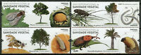 Portugal Trees Stamps 2020 MNH Intl Year of Plant Health Insects Bugs 4v Set