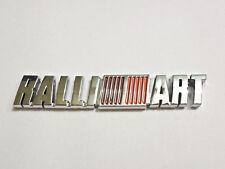 Ralliart Mitsubishi Emblem Silver badge GRS EVO ES RS Eclipse Galant JDM Lancer