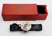 Vintage E. Leitz Wetzlar Entfernungsmesser Fokus Rangefinder w/ Original Box