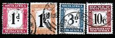 South Africa 1914 to 1961 Postage Due Stamps - Used