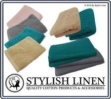 Egyptian Cotton 650GSM Hand FaceTowels Bath Mats10 Pieces Set Sets New Bulk Buy
