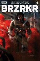 Brzrkr 1 (Berzerker)  Grampa Cover A  2/24/2021 Keanu Reeves Boom Studios New