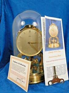 SCHATZ 1000 DAY GERMAN  ANNIVERSARY CLOCK RESTORED  MAKE A BEAUTIFUL GIFT