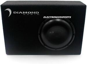 "Diamond Audio DESMB8 8"" High Output Slot Ported Enclosure & Subwoofer 5"" Deep"