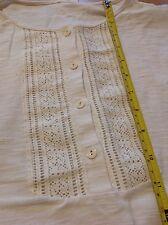 🎈👗 Original Vintage NATURFASER Baumwolle Nachthemd SCHIESSER Gr. 50 NEU ❗️