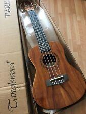 RRP £159 Concert Electro Acoustic Ukulele in Koa with Arched Back + gig bag