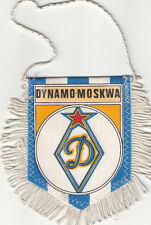 Dynamo-Moskwa Moscow Moscou USSR Russia FOOTBALL FANION WIMPEL PENNANT 80s