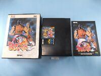 Art of Fighting Ryukonoken 2 NEO GEO AES SNK neogeo Used From Japan 92882z2
