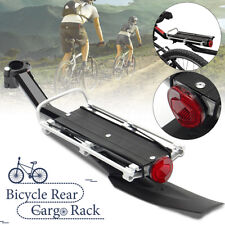 Mountain Bicycle Bike Cycling Rear Seat Carrier Cargo Rack Mudguard Fenders Set