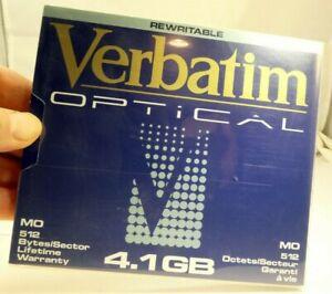 """Verbatim 92841 Ottico Riscrivibile 4.1GB 5.25 """" Dischi 130mm Disco 512 Byte"""