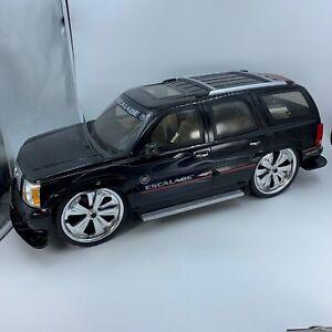 UNTESTED New Bright RC  Radio Control Black Cadillac Escalade SUV UNTESTED PARTS