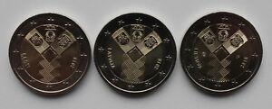 ESTONIA LATVIA LITHUANIA - 2 € Euro common commem. coin 2018 - Baltic states100