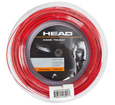HEAD Hawk Touch 1.25mm 120m 17 Gauges 394ft Tennis String Red Reel Poly