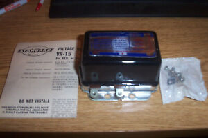 NORS CHRYSLER PRODS.,STUDEBAKER,JEEP Voltage Regulator Standard VR-15