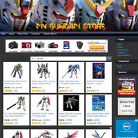 GUNDAM STORE - Premium Affiliate Website Business For Sale, FREE .COM Domain!