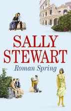 Stewart, Sally, Roman Spring, Very Good Book