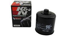 K&N Ölfilter schwarz KN-138 Suzuki GSXR 1000 K1-K2 BL Bj. 2001-2002