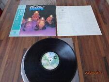 """DEEP PURPLE """"BURN"""" - LP JAPAN + OBI + INSERTS -  P-10104W"""
