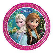 8 Disney's FROZEN Children's Party Disposable 23cm Paper Plates