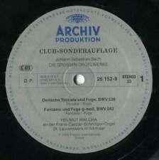 Johann Sebastian Bach – Helmut Walcha - Die Gros Vinyl Schallplatte - 129484
