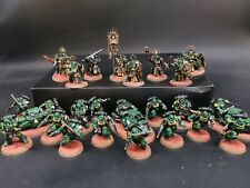 Warhammer indomitus Space marine half  - salamanders chapter made to order