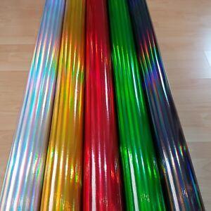 [18€/m²] Autofolie  Rainbow Laser Chrom Oil Slick Car Wrapping Folie Hologramm
