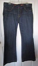 Express Eva Fit & Flare Regular Length Dark Wash Jeans 10 NWOT