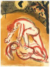 Marc Chagall original Bible lithograph 878990