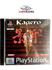 Kagero Deception 2 PSX PS1 Playstation Nuevo Precintado Retro Sealed New PAL/EUR