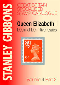 Great Britain Specialised Volume 4 Pt 2 Stamp Catalogue by Gibbons  SAVE 10% OFF